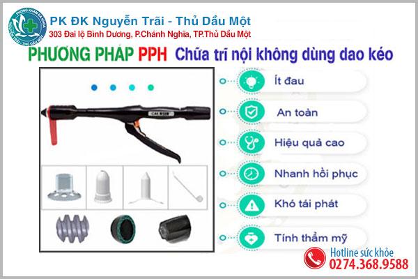 Hỗ trợ điều trị trĩ nội tại Đa khoa Nguyễn Trãi - Thủ Dầu Một