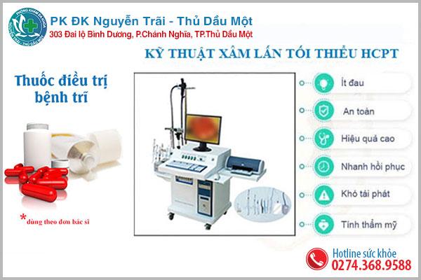 Phương pháp hỗ trợ điều trị trĩ ngoại hiệu quả tại Đa khoa Nguyễn Trải - Thủ Dầu Một