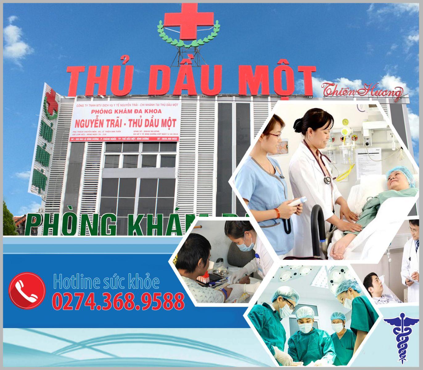 Đa khoa Nguyễn Trãi - Thủ Dầu Một - Phòng khám hậu môn hàng đầu Bình Dương